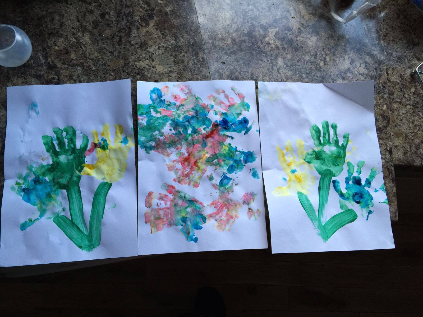 Handpainting session for Spring